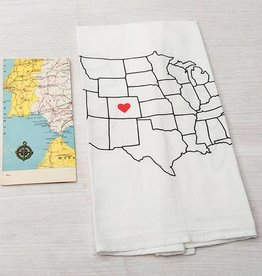 Counter Couture AZ love dishtowel