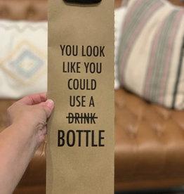 Pretty Alright Wine Bag Use a Bottle