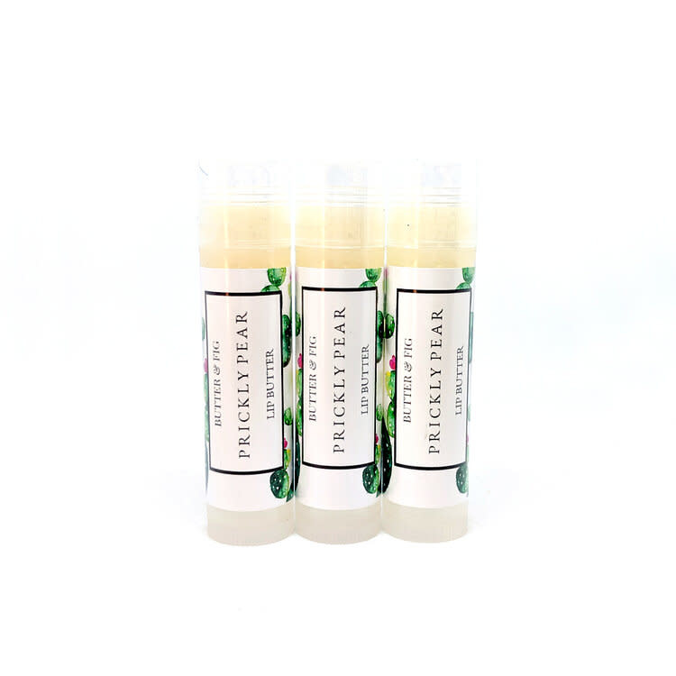 butter and fig Prickly Pear + Poppy Lip Balm