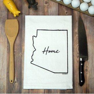 Arizona State Home Tea Towel