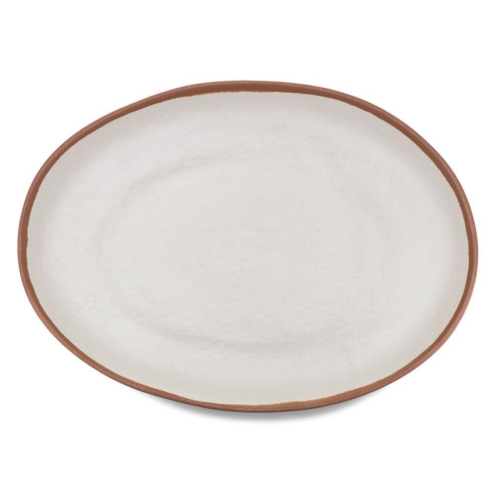 Potter Terracotta Oval Platter