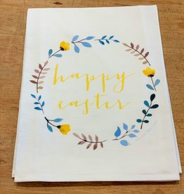 potluck press Happy Easter Wreath TT