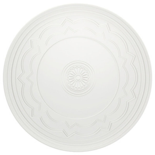 Ornament charger plate