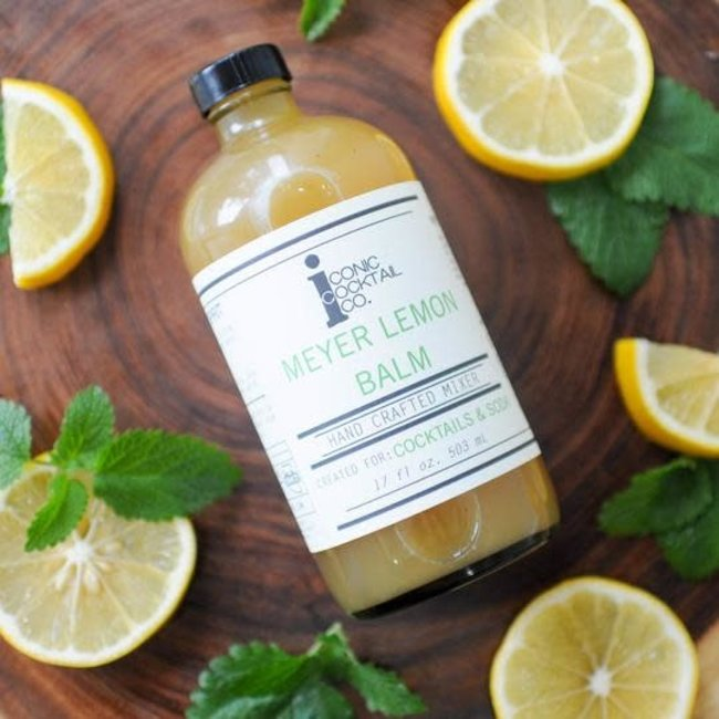 Iconic Cocktail Co. Meyer Lemon Balm 17oz.