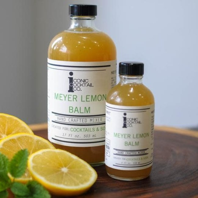 Iconic Cocktail Co. Mini Meyer Lemon Balm 4 oz.