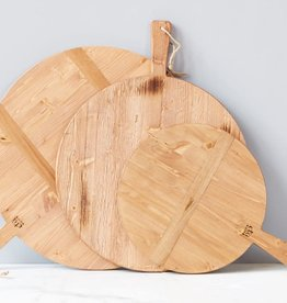 Med Round Pizza Board Natural