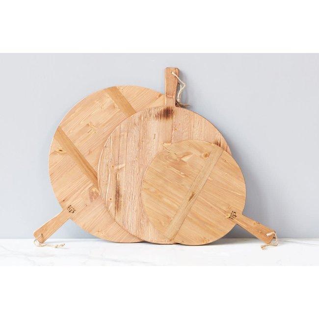 Round Pine Charcuterie Board, Medium