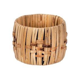 Creative Co-Op Woven Cane Napkin Rings
