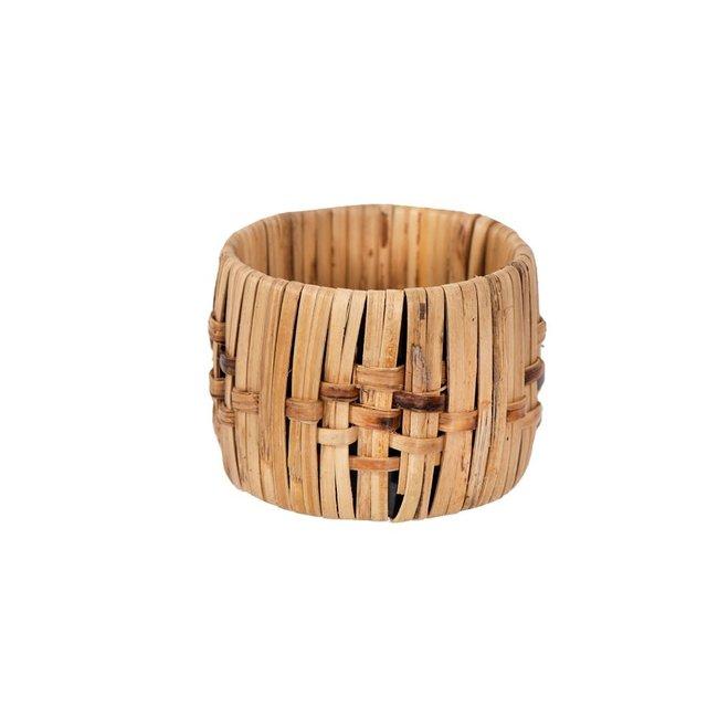 Woven Cane Napkin Rings