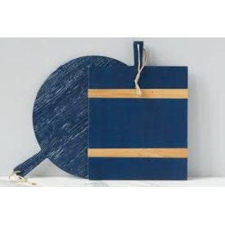 Navy Rectangle Mod Charcuterie Board, Medium