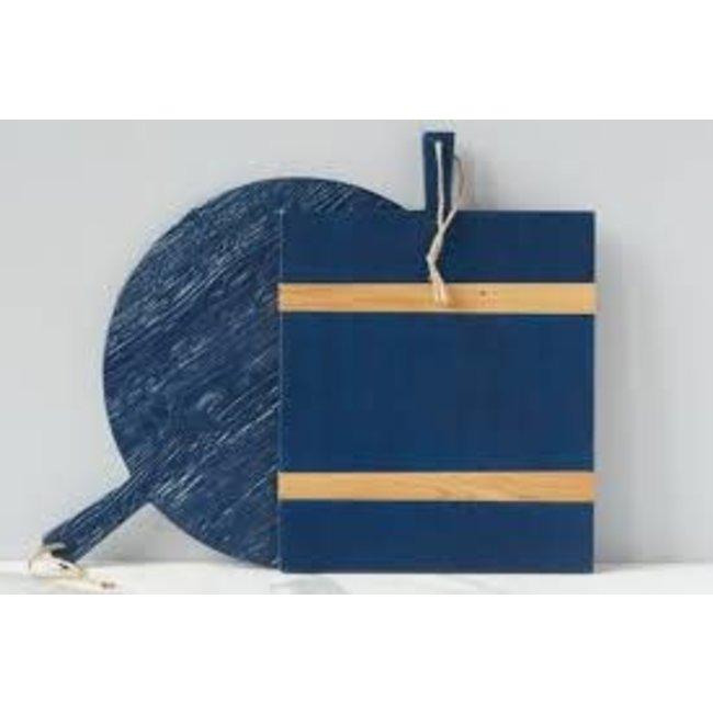Navy Rectangle Mod Charcuterie Board, Medium