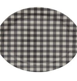 Creative Co-Op Gingham Platter