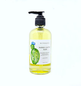 butter and fig Barrel Cactus + Rain Hand Soap