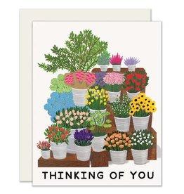 Slightly Flower Market Card