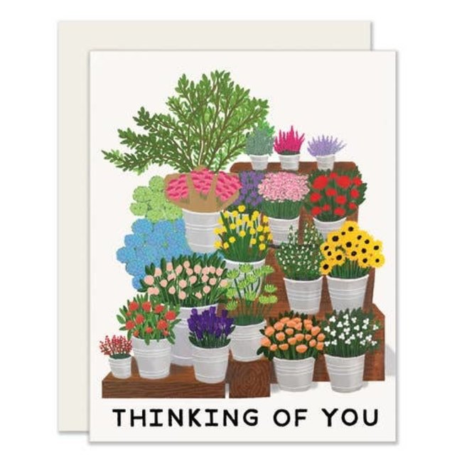 Flower Market Card