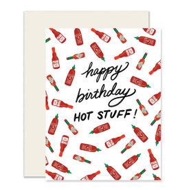 Slightly Hot Stuff Birthday Card