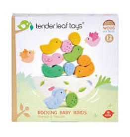 tender leaf Rocking Baby Birds