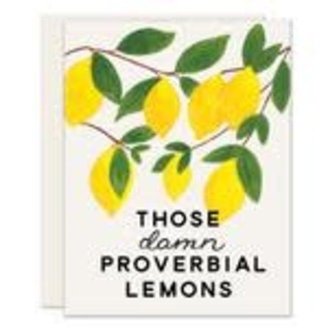Damn Lemons Card