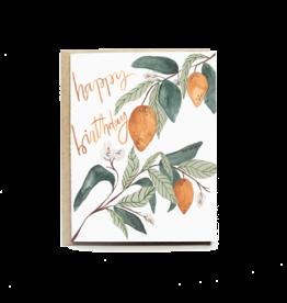 Pen+Pillar Lemons Happy Bday Card
