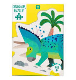 Talking Table Party Dinosaur Triceraptops Shaped Puzzle