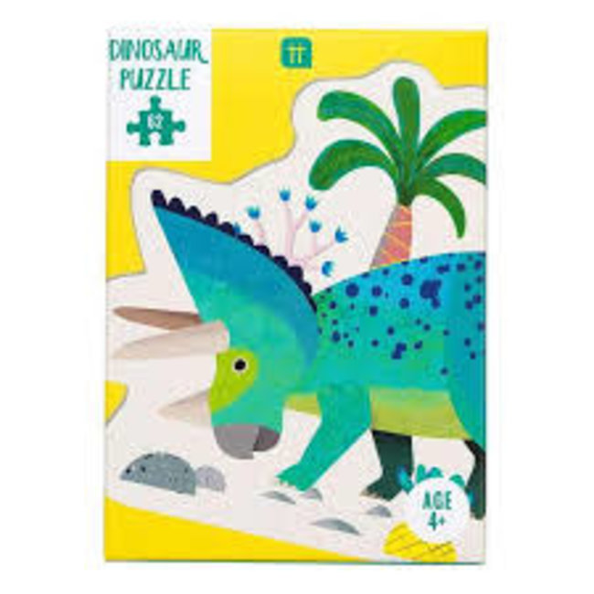 Party Dinosaur Triceraptops Shaped Puzzle