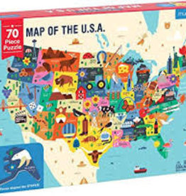 Chronicle Puz Geography Map of the USA