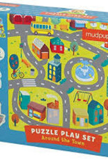Chronicle around the town puzzle & playset