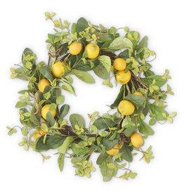 K&K Interiors 22in Lemon Wreath