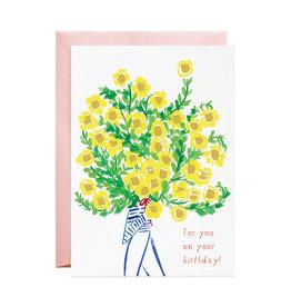Biggest Bouquet Bday Card
