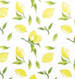 Sophistiplate Lemon Drop Cocktail Napkins