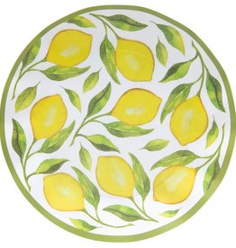 Sophistiplate Wavy Dinner Plate Lemon Drop