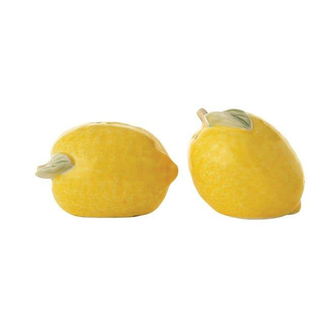 Lemon Salt & Pepper Shakers