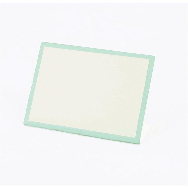 Seafoam Frame Place Card