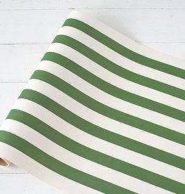 Dark Green Classic Stripe Runner