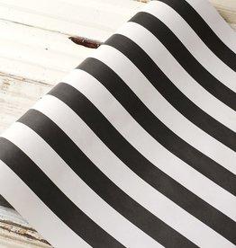 Black Classic Stripe Runner