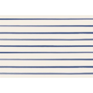 Navy Stripe Placemat
