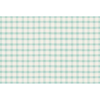 Seafoam Painted Check Placemat