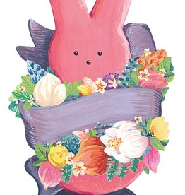 Die Cut Peeps Bunny table Accent