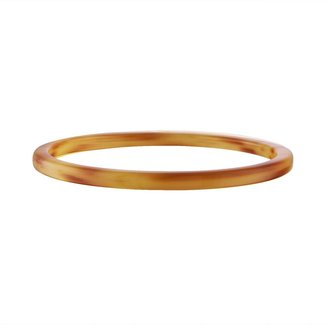 Cognac Square Bangle