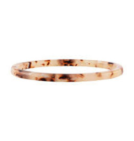 machete Blush Tortoise Square Bangle