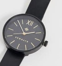 Newgate Watches Atom Lady Black Leather Strap