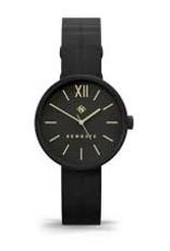 Newgate Watches Atom Lady Black Leather Strap