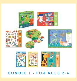 DJECO Bundle 1: Ages 2-4