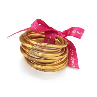 Gold Bangles Set of 9