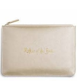 Katie Loxton Mother of the Bride Pouch Metallic Gold