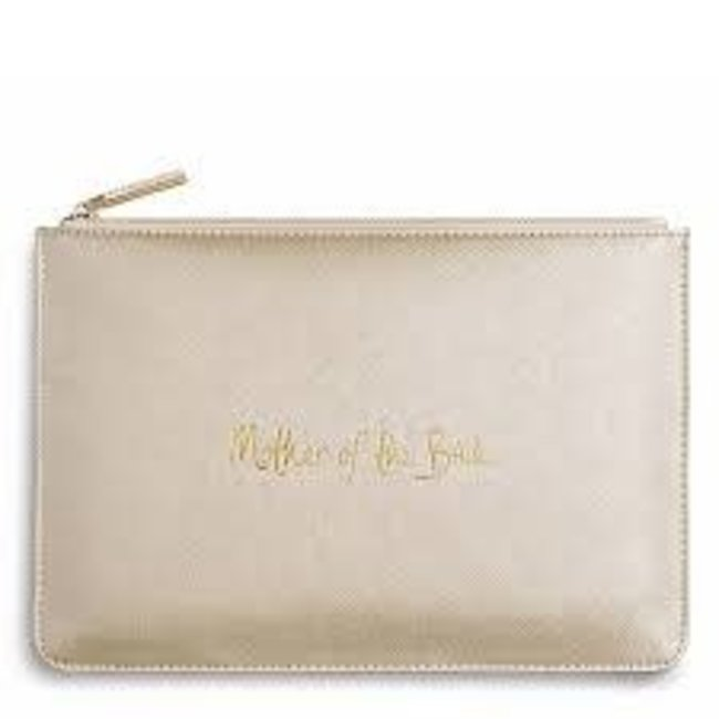 Mother of the Bride Pouch Metallic Gold