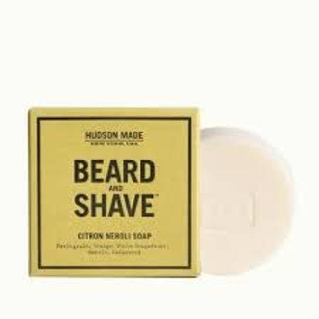 citron neroli beard & shave soap
