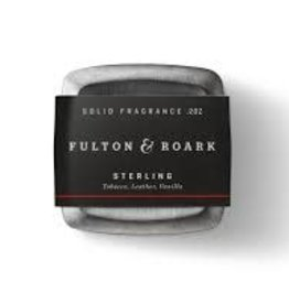 fulton & roarke Sterling Solid Cologne