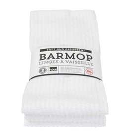 White Barmops Large Set of 3