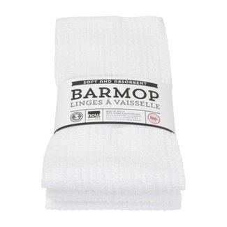 White Barmops Large Set of 3